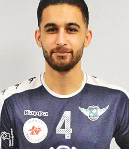 Milad AL JAF (Réceptionneur-attaquant)
