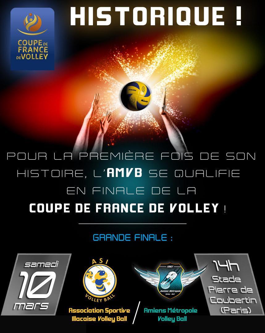 Amiens Métropole Volley-Ball - AMVB Amiens