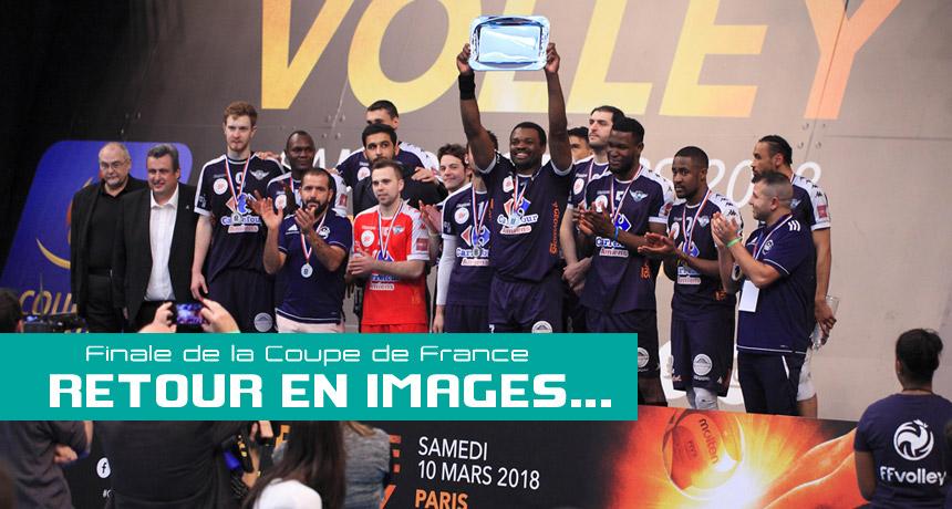 Retour en images sur la finale de la coupe de france amvb - Coupe de france de volley ...