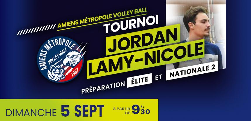 Tournoi Jordan Lamy-Nicole le 5 septembre